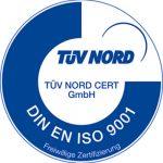 DIN EN ISO 9001 ZÜV-Nord Zertifikat